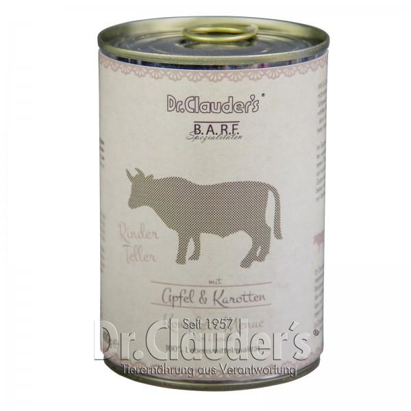 Dr. Clauder's Rinder Teller Komplettmenü 6x400g